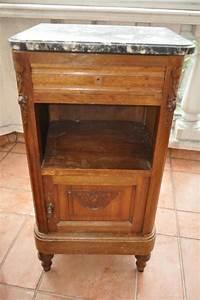Table De Nuit Haute : troc echange table de chevet ancienne dessus marbre sur france ~ Teatrodelosmanantiales.com Idées de Décoration