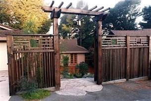 asian gates on gates arbors and fence design