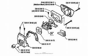 Husqvarna 41  1991 Carburetor