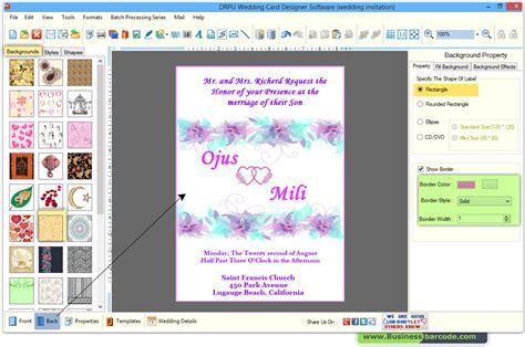 Wedding Invitation Card Creator Software Free Download