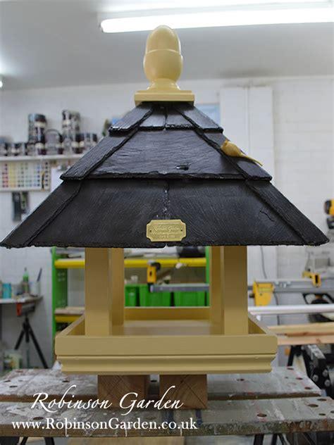 willow bird table bespoke handcrafted bird feeder table