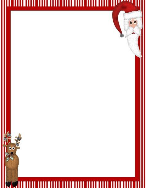 Free Printable Christmas Stationery Borders