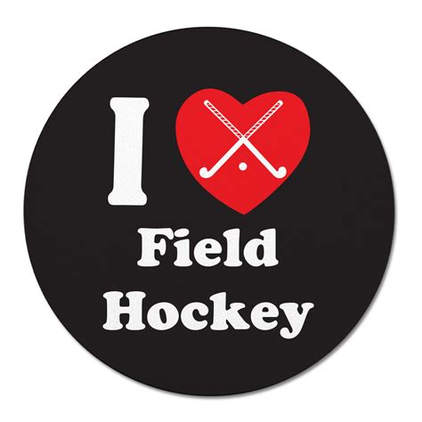 field hockey  heart mouse pad justhersport store view