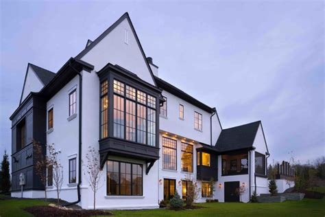 Traditional A Frame Home With Contemporary Style by Andersen 400 Series Windows Indianapolis Clevernest