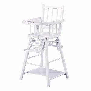 Chaise Haute Bébé Bois : chaise haute en bois b b pi ti li ~ Melissatoandfro.com Idées de Décoration