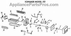 Parts For Ge T14ak-b  Icemaker Model Js2 Parts