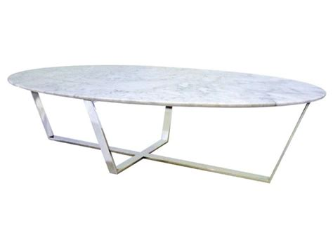 fads verona white oval marble coffee table free delivery