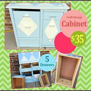 REDUCED 5 Drawer Craft Storage Cabinet Oklahoma City