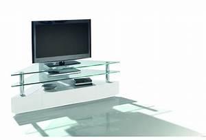 Meuble D Angle Moderne : meuble angle tv moderne meuble tv noir led trendsetter ~ Teatrodelosmanantiales.com Idées de Décoration