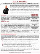 Executive Bios The Top 10 Ways To Use One Executive Resume Rescue Resume Service Professional Resume Writing Executive Resume Chef Bimal Resume Bio Examples