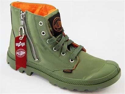 Alpha Palladium Boots Industries Zip Ma Pampa