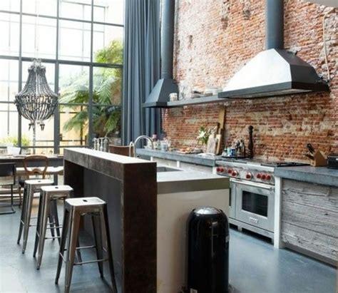 déco style industriel cuisine industrielle l 233 l 233 gance brute en 82 photos