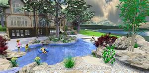 Landscape design swimming pool modern home exteriors for Swimming pool and landscape designs