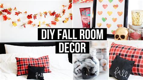 diy fall room decor affordable cozy laurdiy youtube