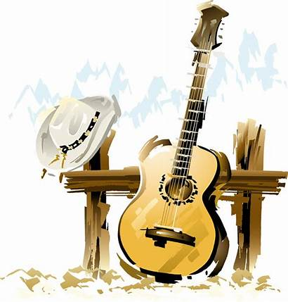 Country Musique Instruments Guitare Instrument Chapeau Indispensable