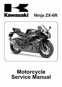 2009 Kawasaki Zx600r Ninja Zx 6r Service Repair Manual By