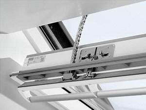 Fenster Elektrisch öffnen : velux ggu schwingfl gelfenster polyur elektrisch ~ Watch28wear.com Haus und Dekorationen