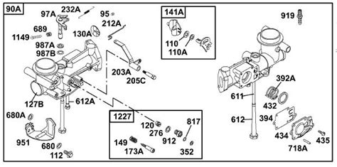 Briggs Stratton Engine Carberator Diagrams Product Wiring