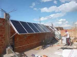 Installation Panneau Solaire : installation kit hybride panneaux solaires photovoltaique ~ Dode.kayakingforconservation.com Idées de Décoration