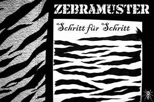 Schöne Muster Zum Selber Malen : zebramuster malen schritt f r schritt zebraspider diy anti fashion punk n hen ~ Orissabook.com Haus und Dekorationen
