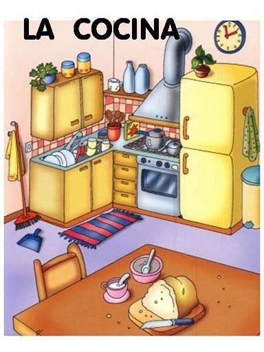 la cocina label  chores  images teaching