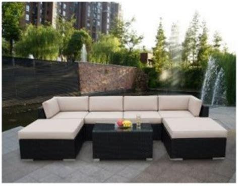 genuine ohana 7 outdoor wicker patio furniture