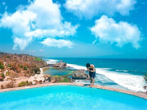 cantiknya pantai ngrawe gunung kidul yogyakarta wisatainfo
