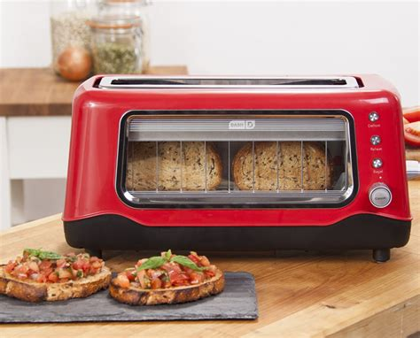 Dash Clear View Glass Toaster