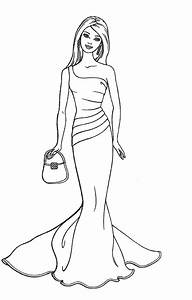 Barbie Coloring Pages Printable To Download