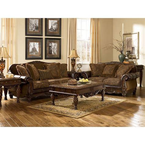 fresco durablend antique living room set signature