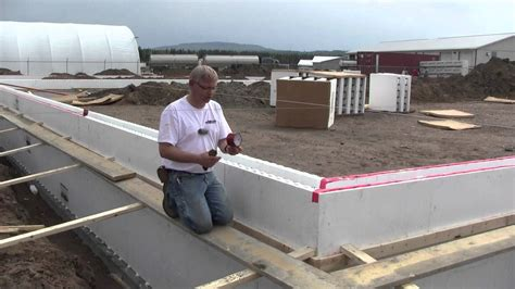 foam concrete forms for retaining walls fox blocks whitecourt shop part 1 stem walls insulated