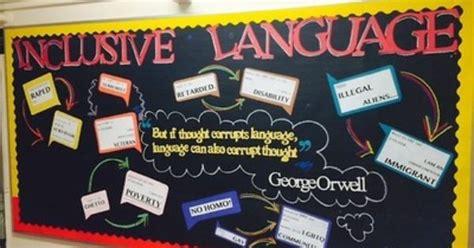 Inclusive Language Bulletin Board