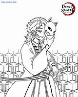 Slayer Demon Coloring Nezuko Printable Wonder sketch template