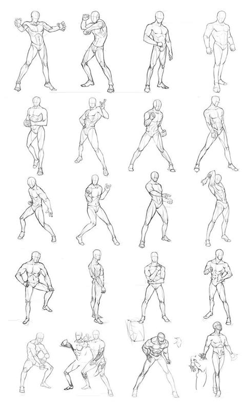 pictures anime reference poses drawings gallery