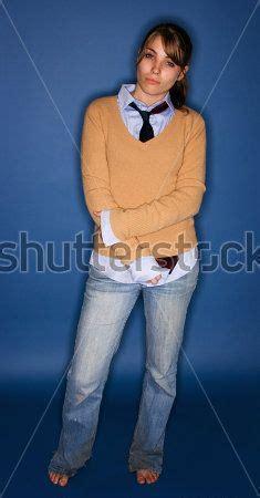 Amazing Bare Barefoot Blue Jeans Cardigan Cute