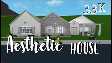 Home With Youthful Aesthetic by Roblox Welcome To Bloxburg Aesthetic House No