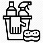 Cleaning Bucket Sponge Icon Glove Icons Editor