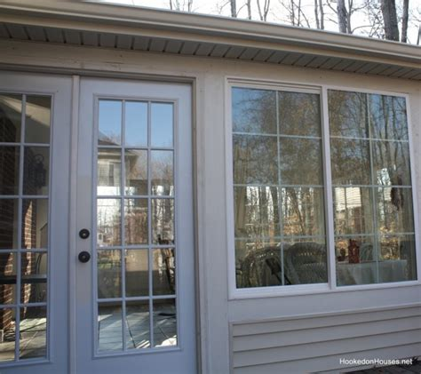 sunroom  finally finished hooked  houses