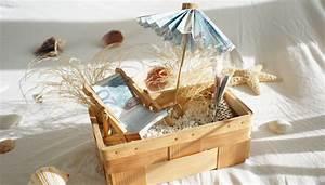 Geschenk Verpacken Hochzeit : hochzeitsgeschenk reisegutschein basteln sommer sonne geldgeschenk geschenk hochzeit ~ Watch28wear.com Haus und Dekorationen