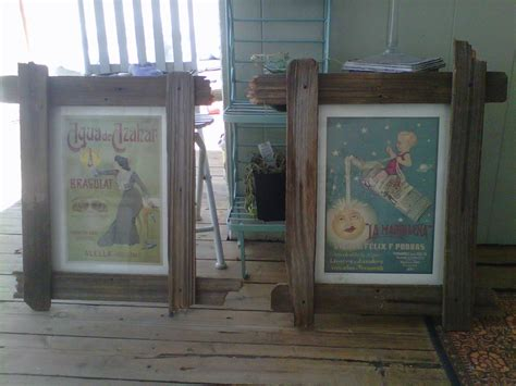 frames     fence boards simple wood crafts