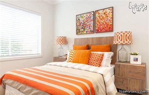 light orange bedroom walls جادوی رنگ نارنجی در دکوراسیون منزل تصاویر 15853 | نارنجی
