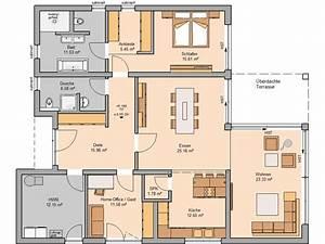 Grundriss Haus 200 Qm : bungalow select bauhaus auf einer ebene ~ Watch28wear.com Haus und Dekorationen