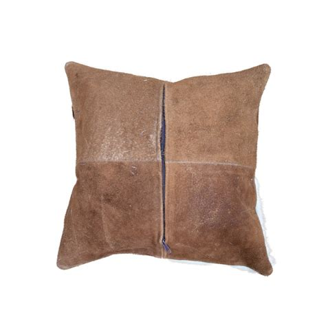 Cowhide Pillows For Sale by Patch Multi Color Cowhide Pillow 18 Quot Taxidermy Mounts