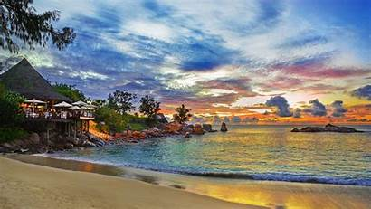 Beach Amazing Desktop Wallpapers Beaches Background Seychelles