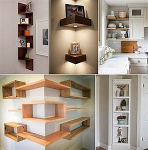 10, Clever, Corner, Shelf, Ideas