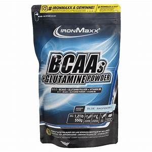 Bcaa   Glutamine Powder Ironmaxx
