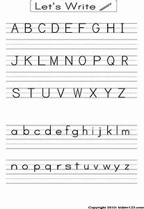 Alphabet Writing Paper Paper Correction On Line Alphabet Tracing