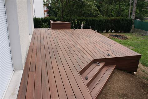 bac en bois pour terrasse myqto com