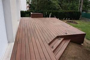 Terrasse Bois Composite : terrasse jardin bois composite diverses ~ Premium-room.com Idées de Décoration
