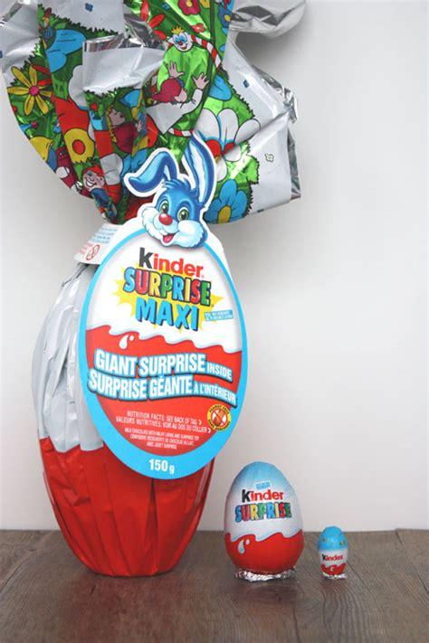 martha giant kinder surprise eggs